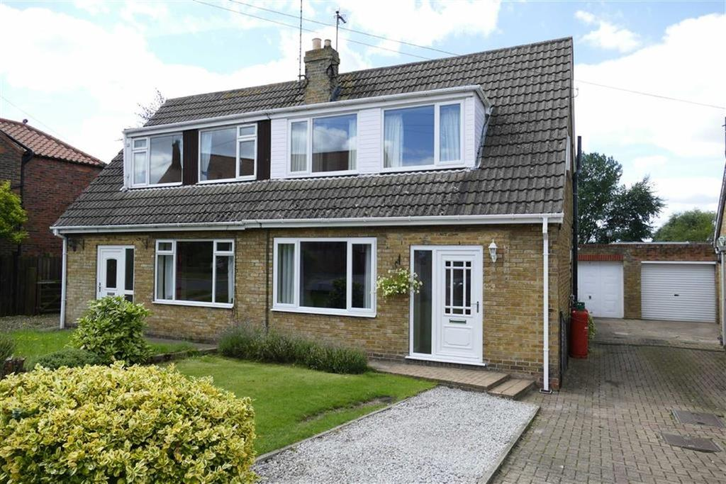 2 Bedrooms Semi Detached House for sale in South Newbald Road, Newbald