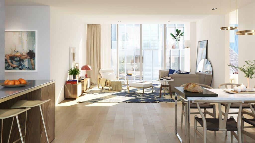 3 Bedrooms Flat for sale in Barts Square, 56 West Smithfield, Smithfield Market, London, EC1A
