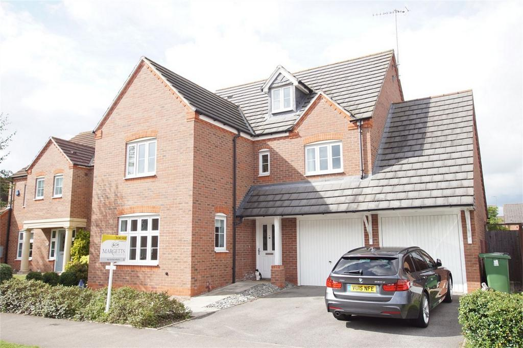 5 Bedrooms Detached House for sale in Hardwick Field Lane, Chase Meadow, Warwick