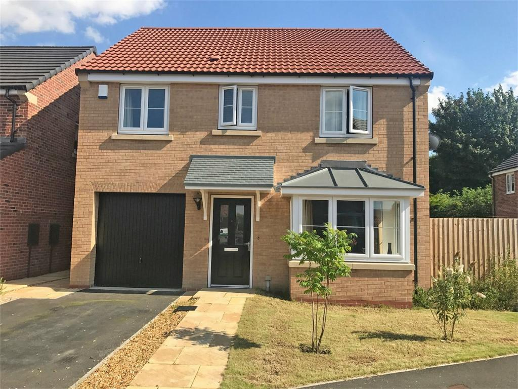 4 Bedrooms Detached House for sale in Wicstun Way, Market Weighton, York