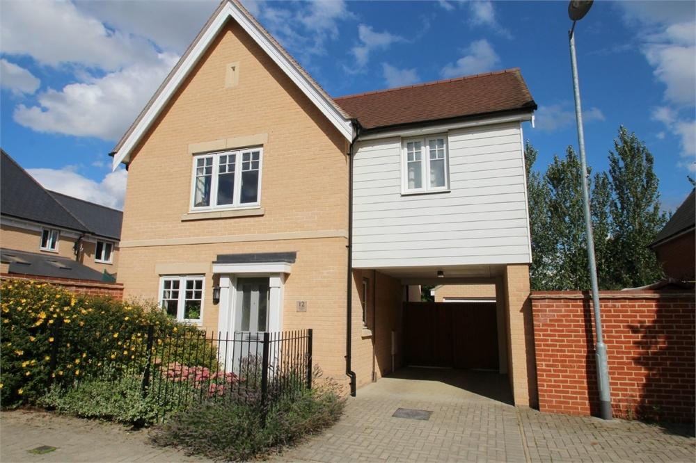 3 Bedrooms Detached House for sale in Braeburn Road, Great Horkesley, COLCHESTER, Essex