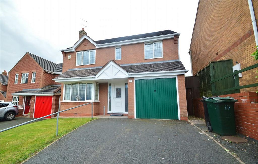 4 Bedrooms Detached House for sale in Larks Rise, Cleobury Mortimer, Kidderminster, Shropshire