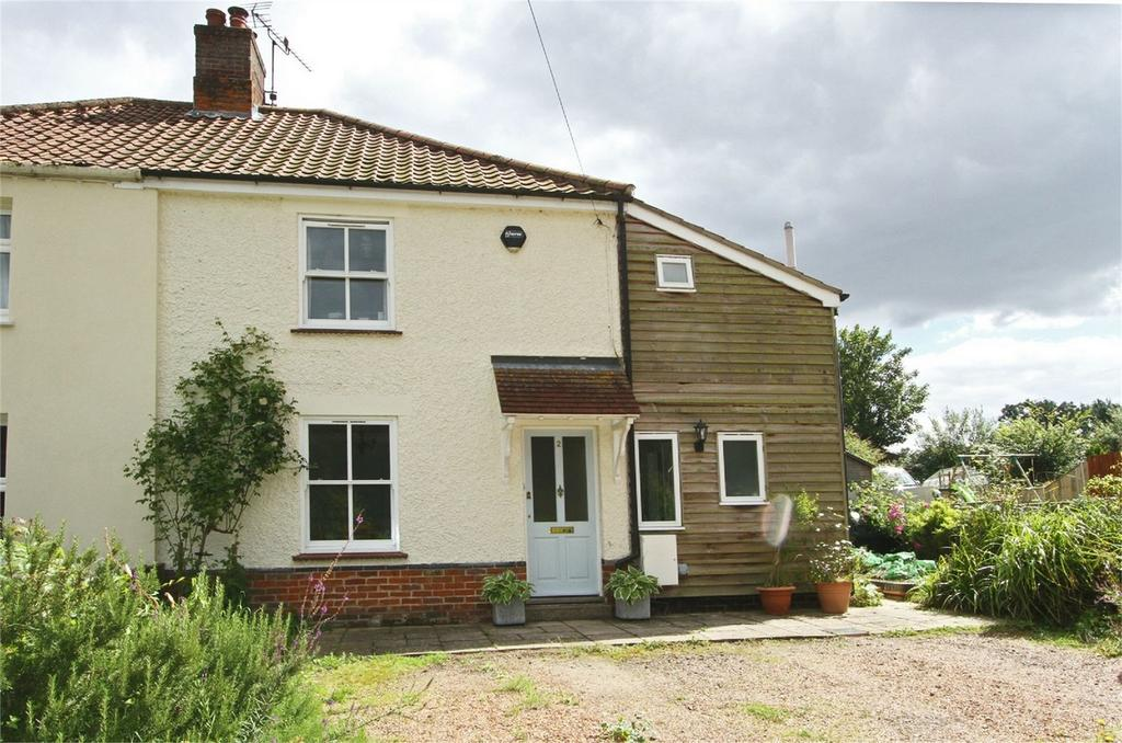 3 Bedrooms Semi Detached House for sale in The Street, Wramplingham, Norfolk