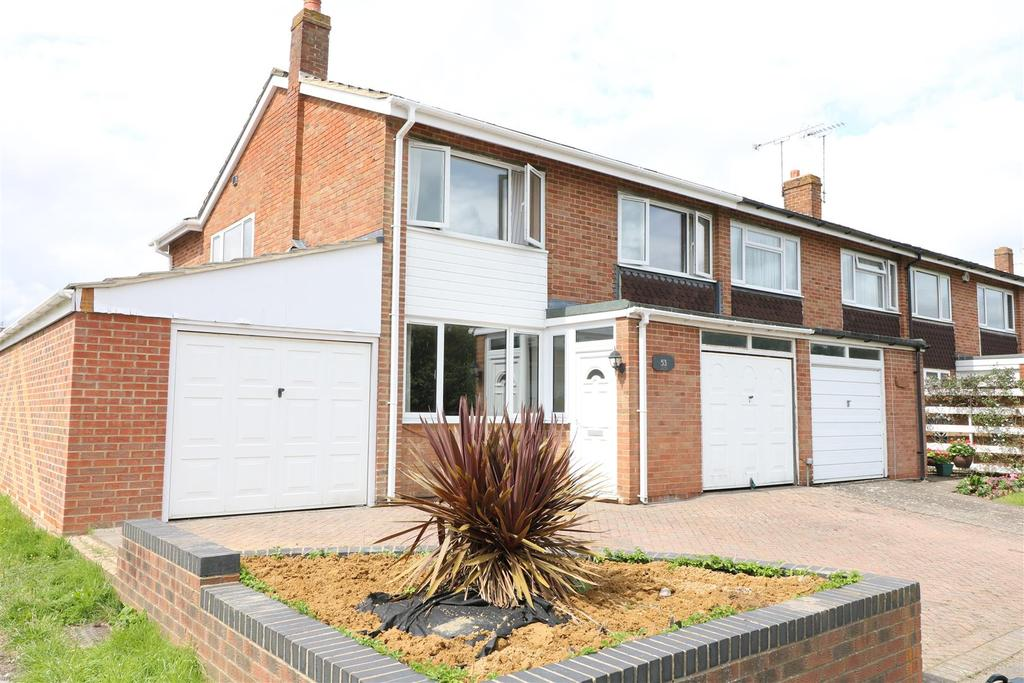 4 Bedrooms End Of Terrace House for sale in Warnford Road, Tilehurst, Reading