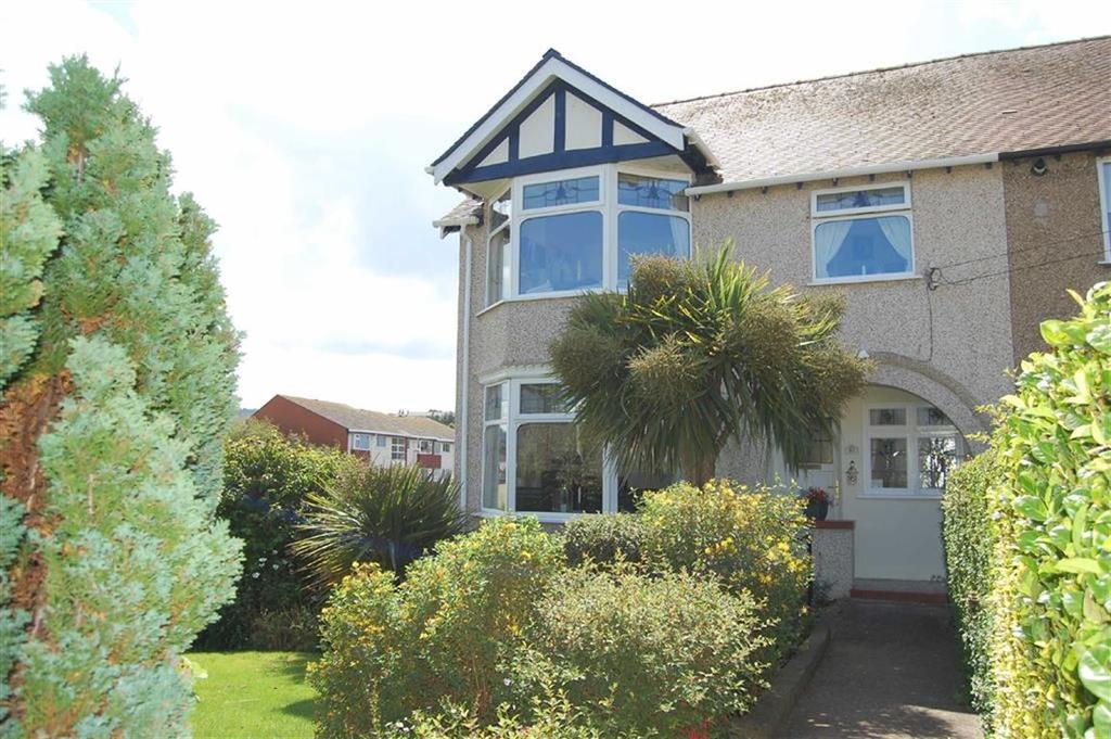 3 Bedrooms Semi Detached House for sale in Abbey Road, Rhos On Sea, Colwyn Bay