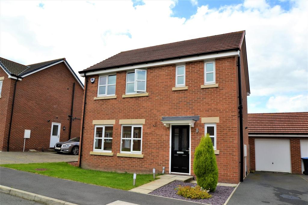 3 Bedrooms Detached House for sale in Burton Constable Close, Spennymoor