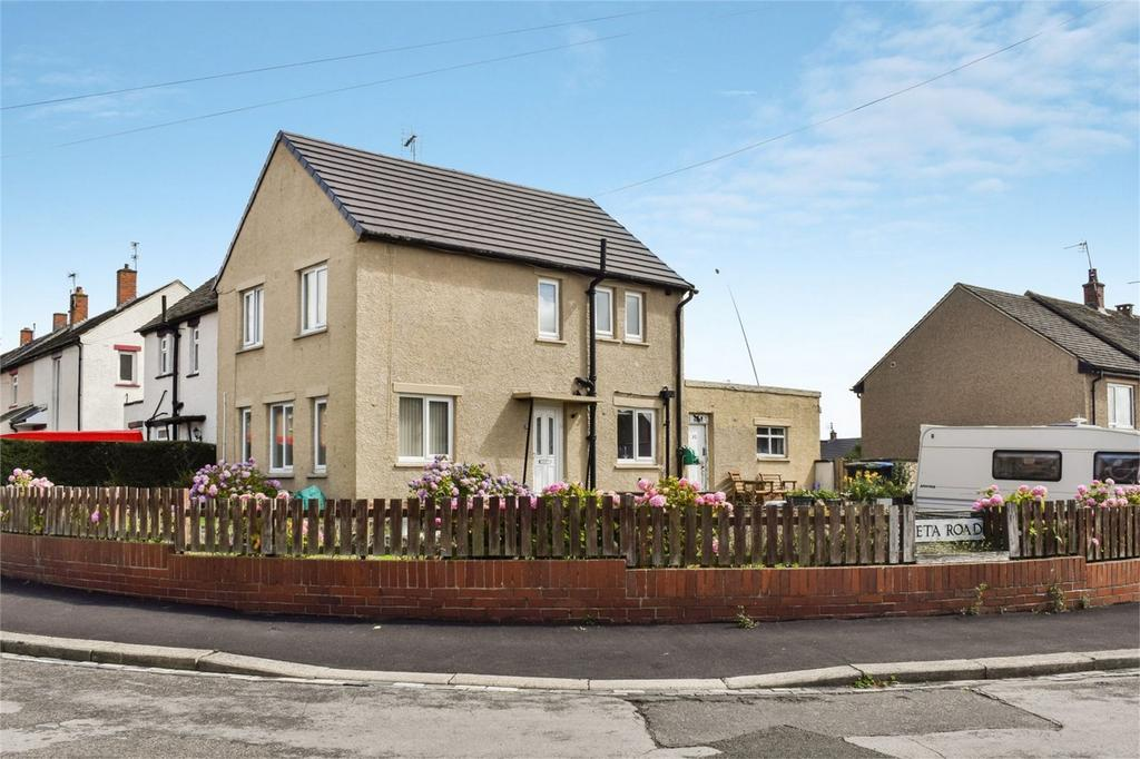 3 Bedrooms Semi Detached House for sale in 32 Hilton Road, Barnard Castle, Durham