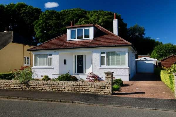 2 Bedrooms Detached Bungalow for sale in 53 Ballater Drive, Bearsden, Glasgow, G61 1BZ