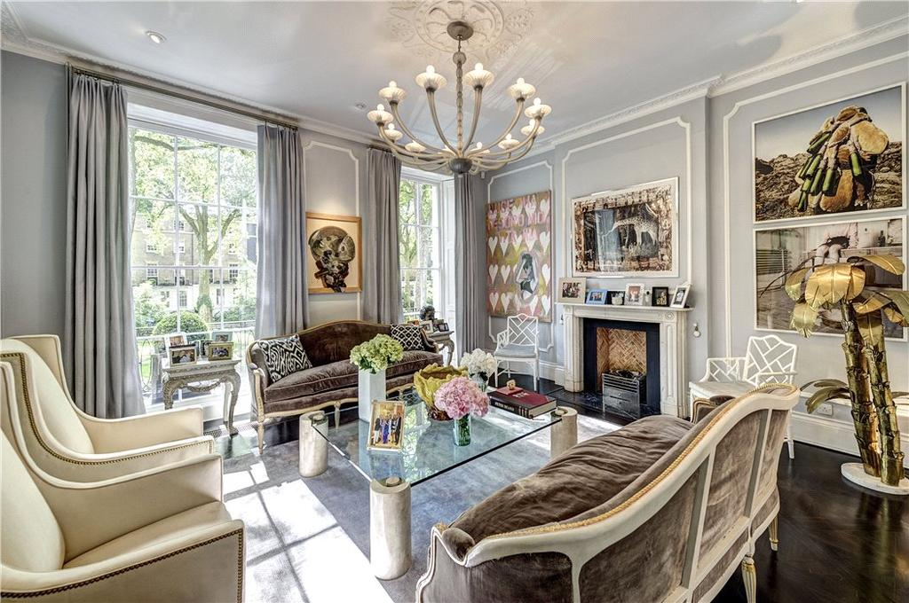5 Bedrooms Terraced House for sale in Connaught Square, Hyde Park, London, W2