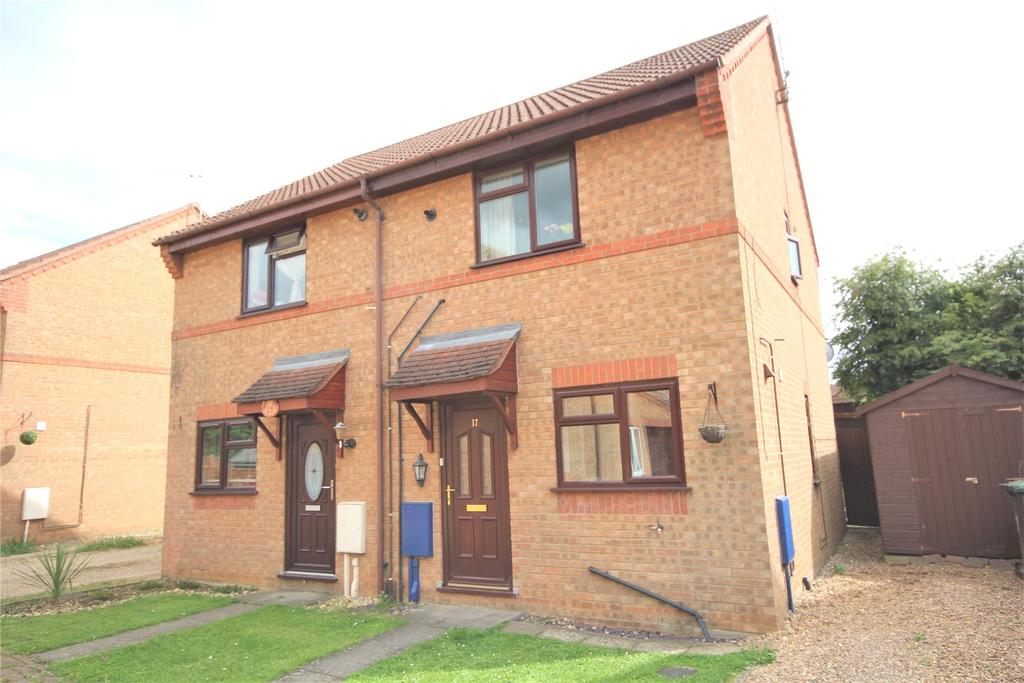 2 Bedrooms Semi Detached House for sale in Norwich Close, Sleaford, NG34