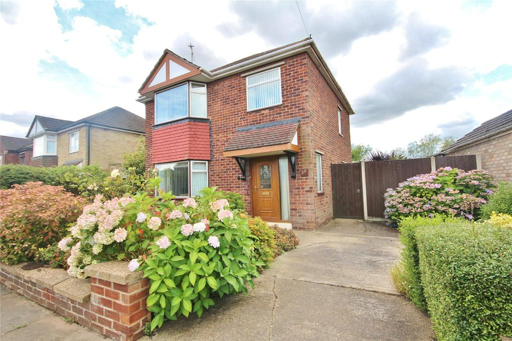 3 Bedrooms Detached House for sale in Constance Avenue, Lincoln, LN6