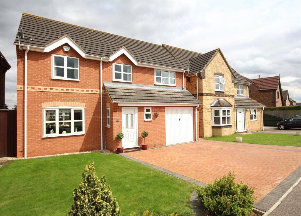 4 Bedrooms Detached House for sale in Paddock Lane, Metheringham, LN4