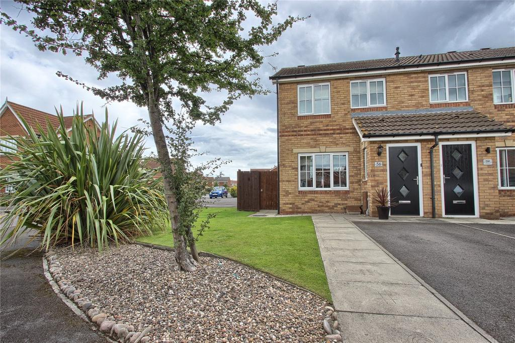 2 Bedrooms End Of Terrace House for sale in Kirkwood Drive, Redcar