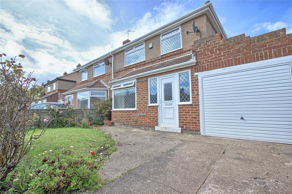 4 Bedrooms Semi Detached House for sale in Kirkleatham Avenue, Marske-by-the-Sea