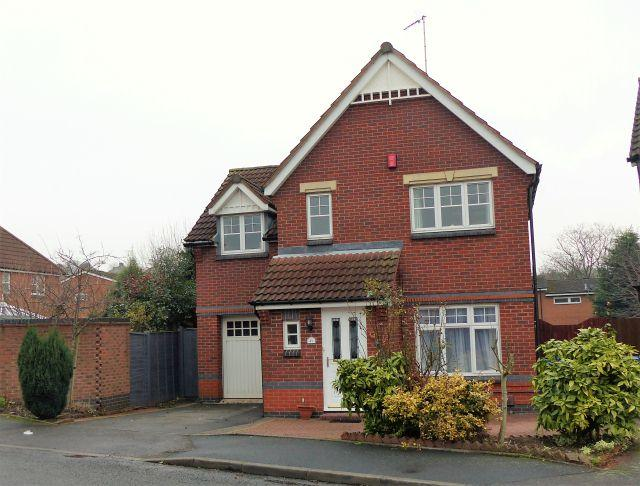 3 Bedrooms Detached House for sale in Hobhouse Close,Great Barr,Birmingham