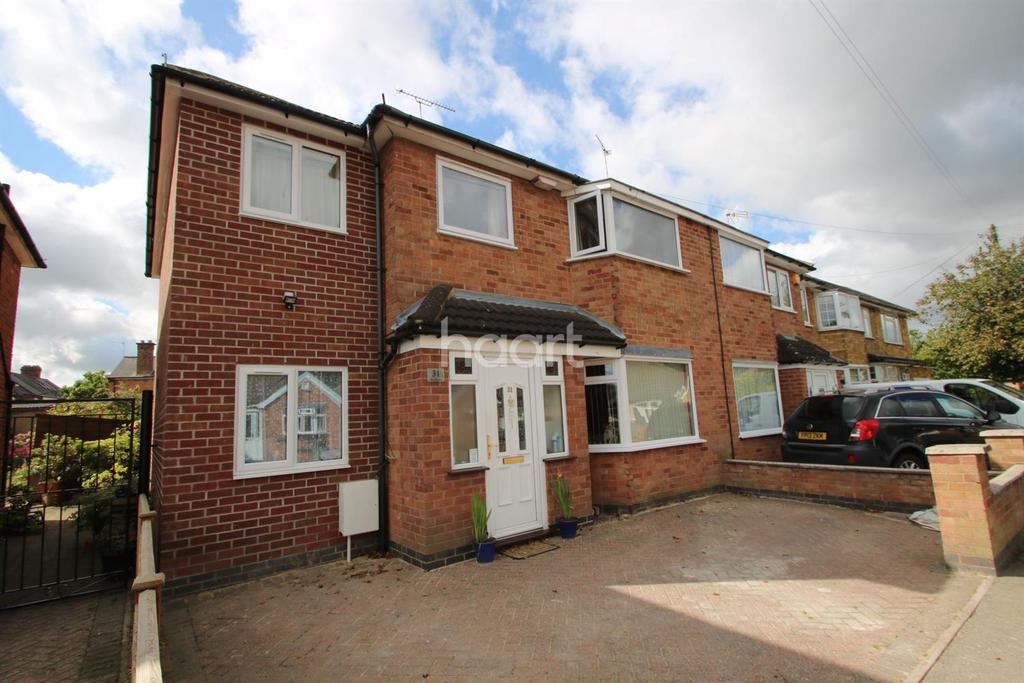 5 Bedrooms Semi Detached House for sale in West Street, Blaby, Leicestershire