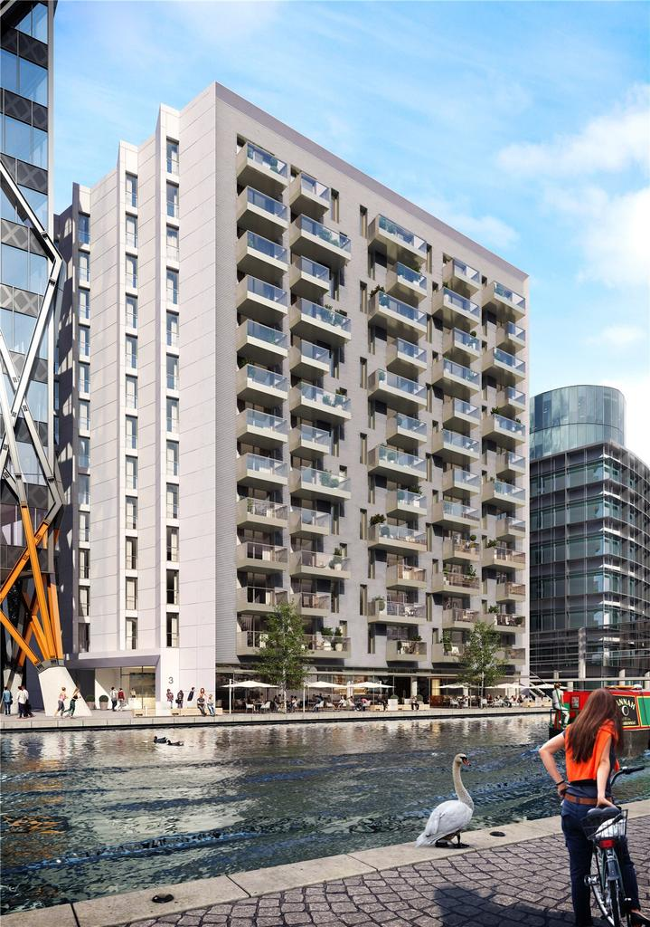 3 Bedrooms Flat for sale in 3 Canalside Walk, North Wharf Road, London, W2