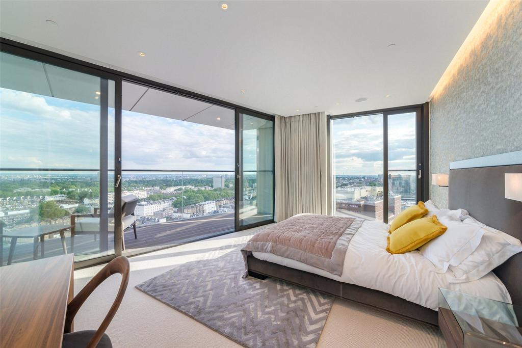 4 Bedrooms Penthouse Flat for sale in Merchant Square, London