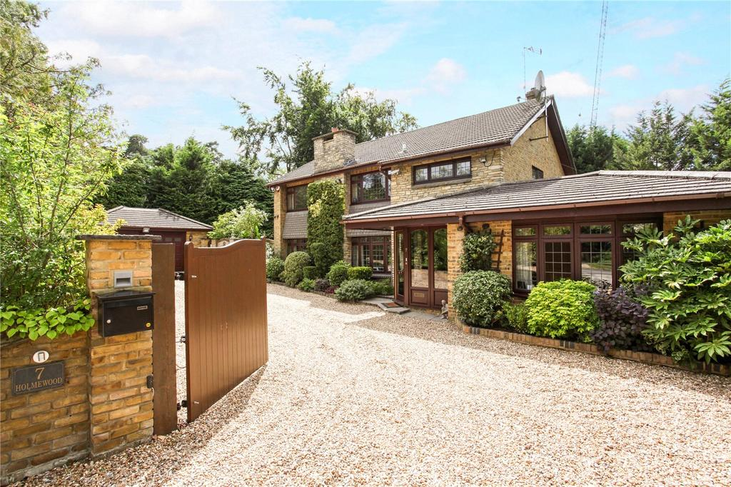 5 Bedrooms Detached House for sale in New Wokingham Road, Crowthorne, Berkshire, RG45