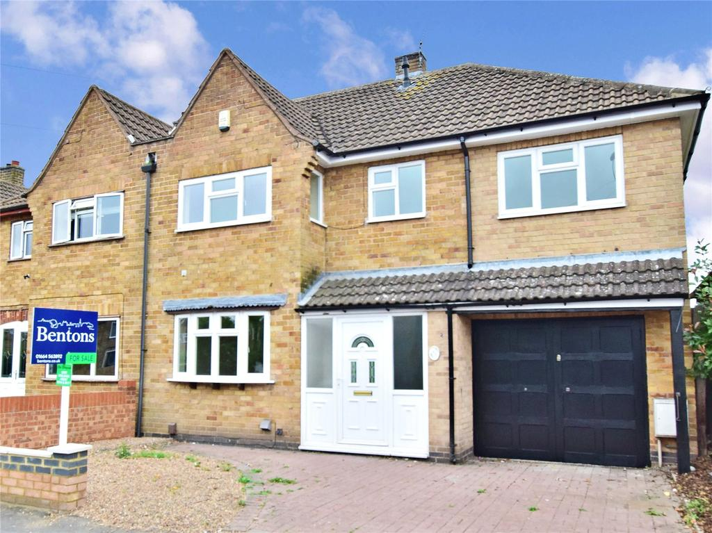 5 Bedrooms Semi Detached House for sale in Balmoral Road, Melton Mowbray, Leicestershire