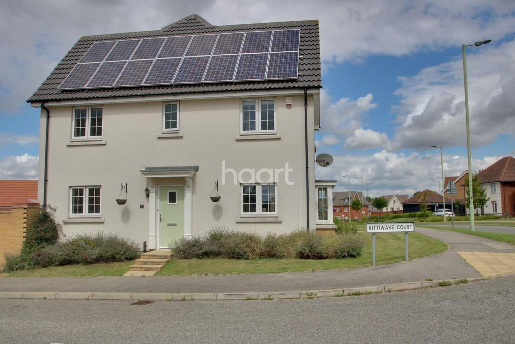 3 Bedrooms Semi Detached House for sale in Kittiwake Court, Stowmarket