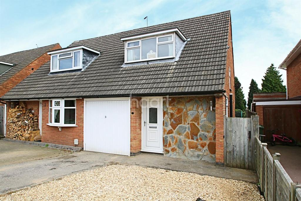 3 Bedrooms Semi Detached House for sale in Rosebank Road, Countesthorpe, Leicestershire