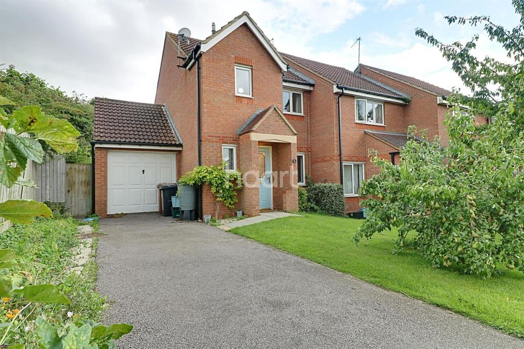 3 Bedrooms End Of Terrace House for sale in Farmers Close, Wootton, Northampton