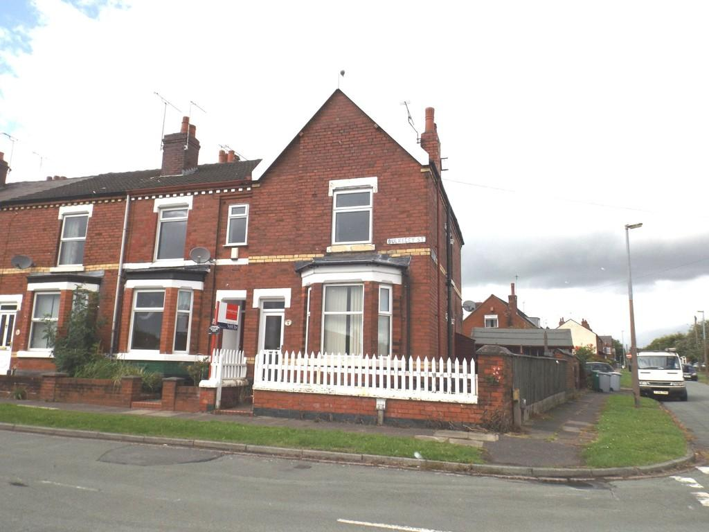 3 Bedrooms End Of Terrace House for sale in Bulkeley Street, Crewe