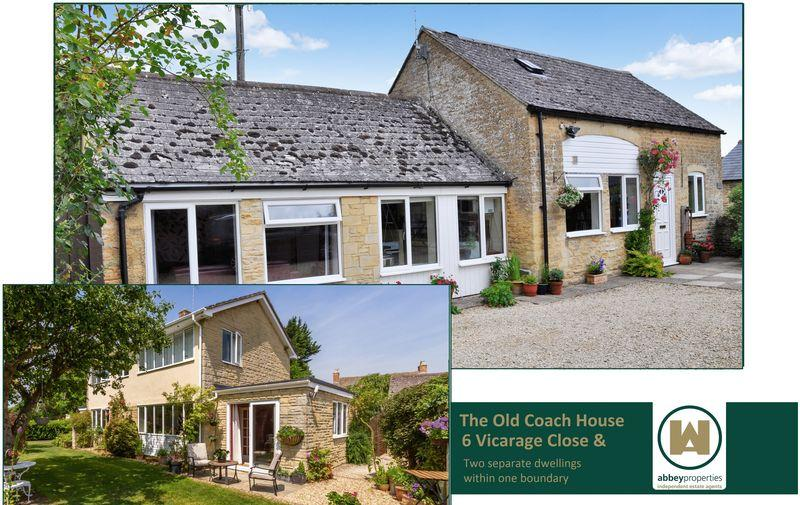 6 Bedrooms Detached House for sale in Being a 4 bed detached house and 2 bedroom Coach House