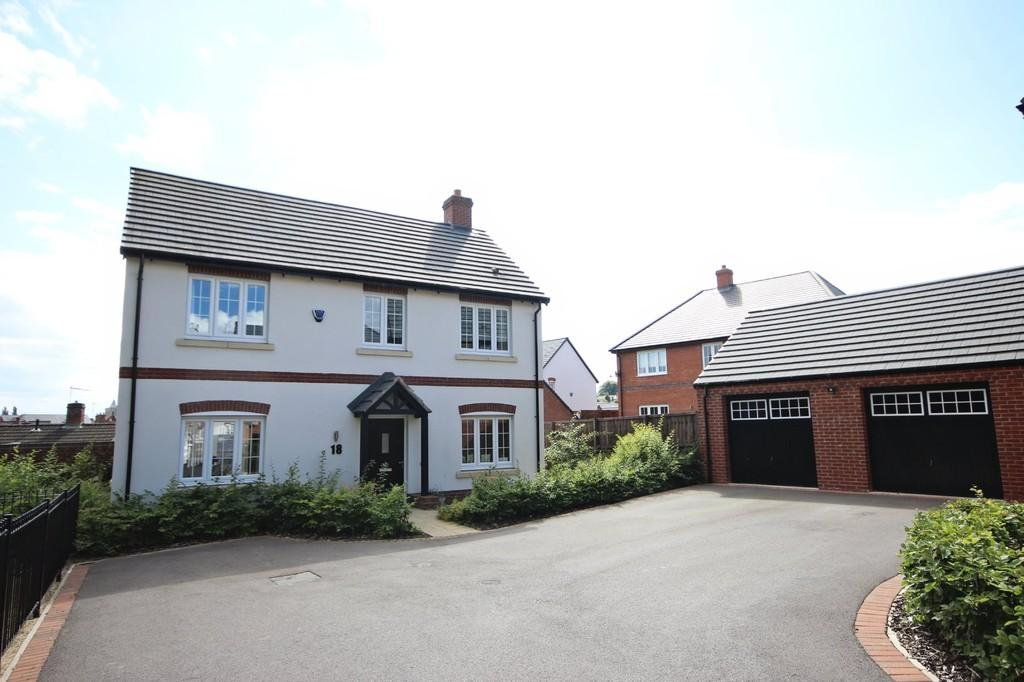 4 Bedrooms Detached House for sale in Ash Tree Road, Ashby-de-la-Zouch