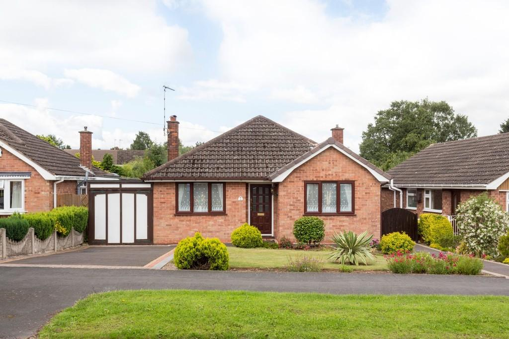 2 Bedrooms Detached Bungalow for sale in Bodmin Avenue, Stafford