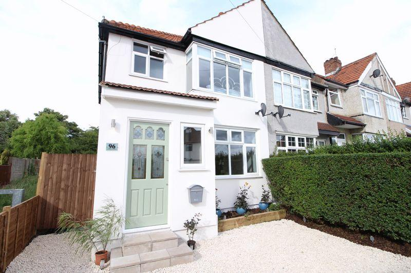 3 Bedrooms End Of Terrace House for sale in Lyndon Avenue, Sidcup, DA15 8RN
