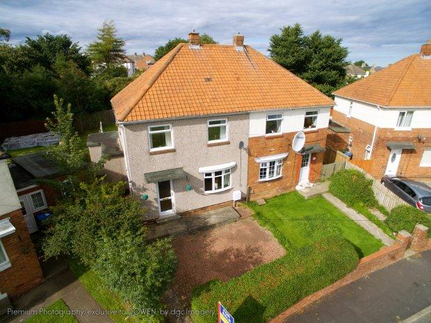 3 Bedrooms Semi Detached House for sale in DUNELM ROAD, TRIMDON VILLAGE, SEDGEFIELD DISTRICT