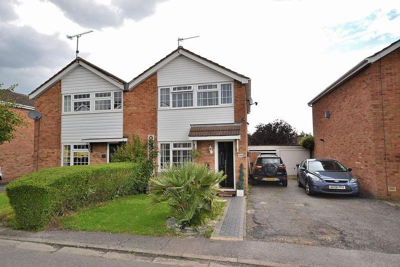 3 Bedrooms Semi Detached House for sale in Bideford Green, Leighton Buzzard
