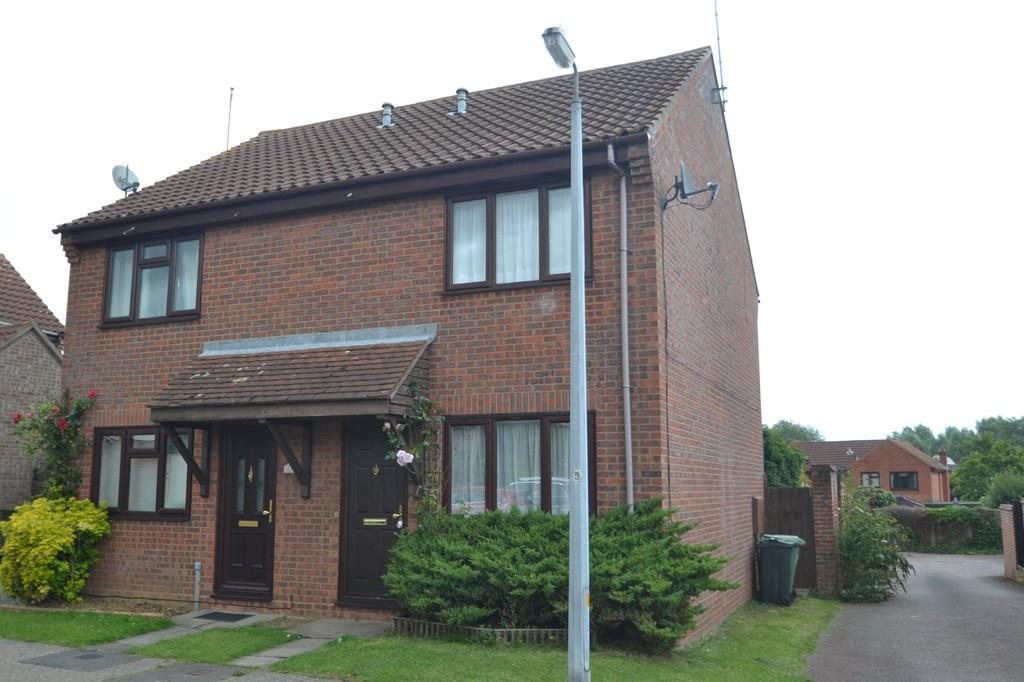 2 Bedrooms Semi Detached House for sale in Pennyroyal Crescent, Witham, CM8 2YN