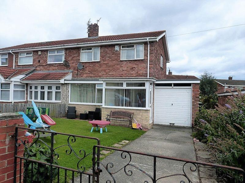3 Bedrooms Semi Detached House for sale in Ringway, Stakeford, Three Bedroom Semi Detached House