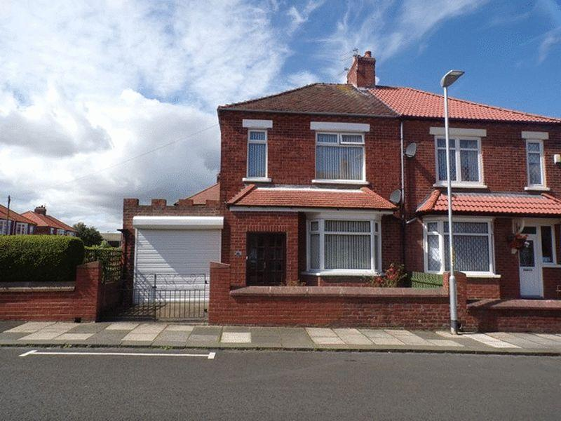 3 Bedrooms Semi Detached House for sale in Winchester Avenue, Blyth