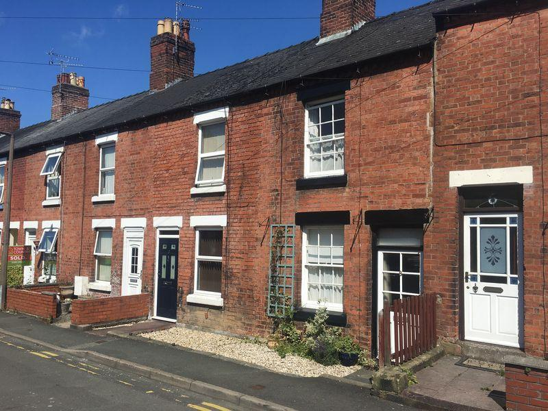 2 Bedrooms Terraced House for sale in 8 Prince Street, Oswestry, Shropshire