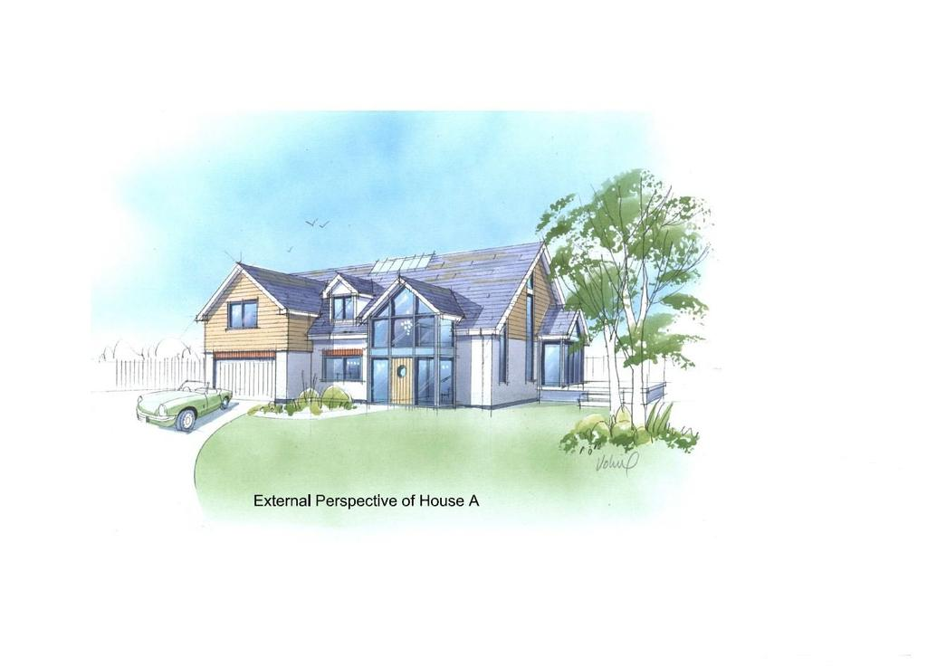 4 Bedrooms House for sale in Contemporary detached new build off Plan, Home Parc, St. Minver