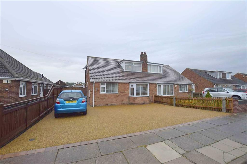 3 Bedrooms Semi Detached Bungalow for sale in Fallowfield, Scartho, North East Lincolnshire