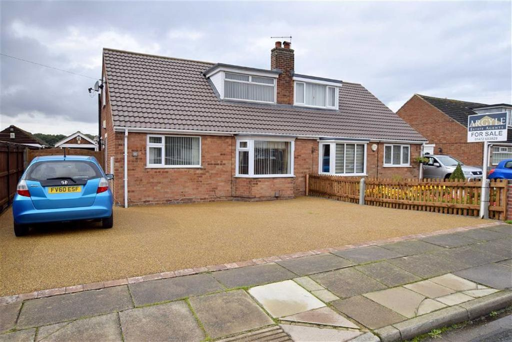 3 Bedrooms Semi Detached Bungalow for sale in Fallowfield Road, Scartho, North East Lincolnshire