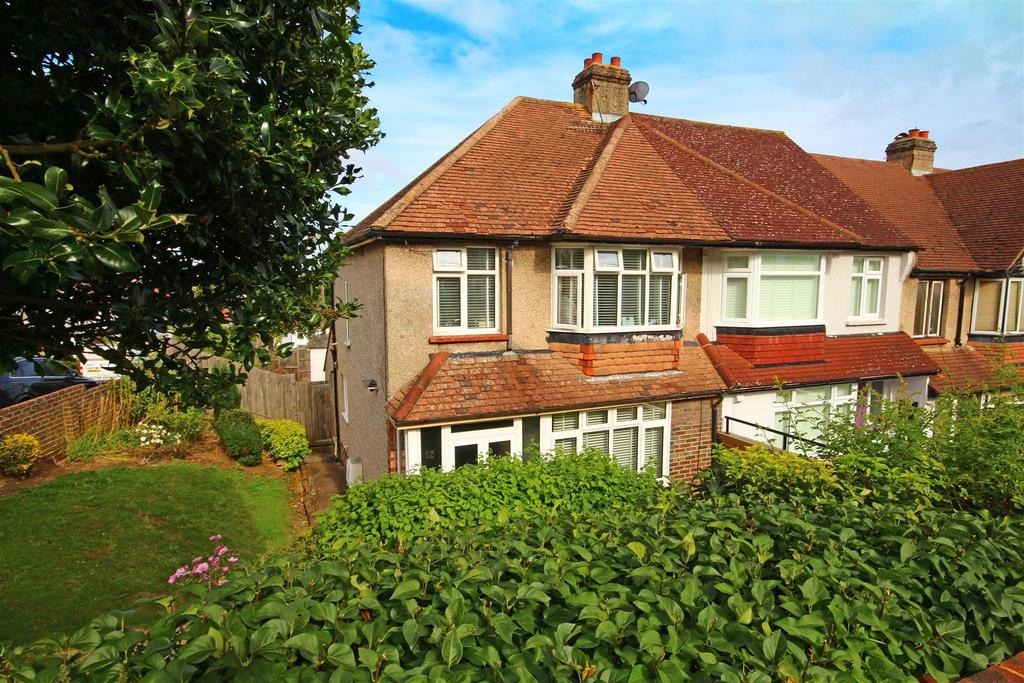 3 Bedrooms End Of Terrace House for sale in Fairway Crescent, Portslade, Brighton
