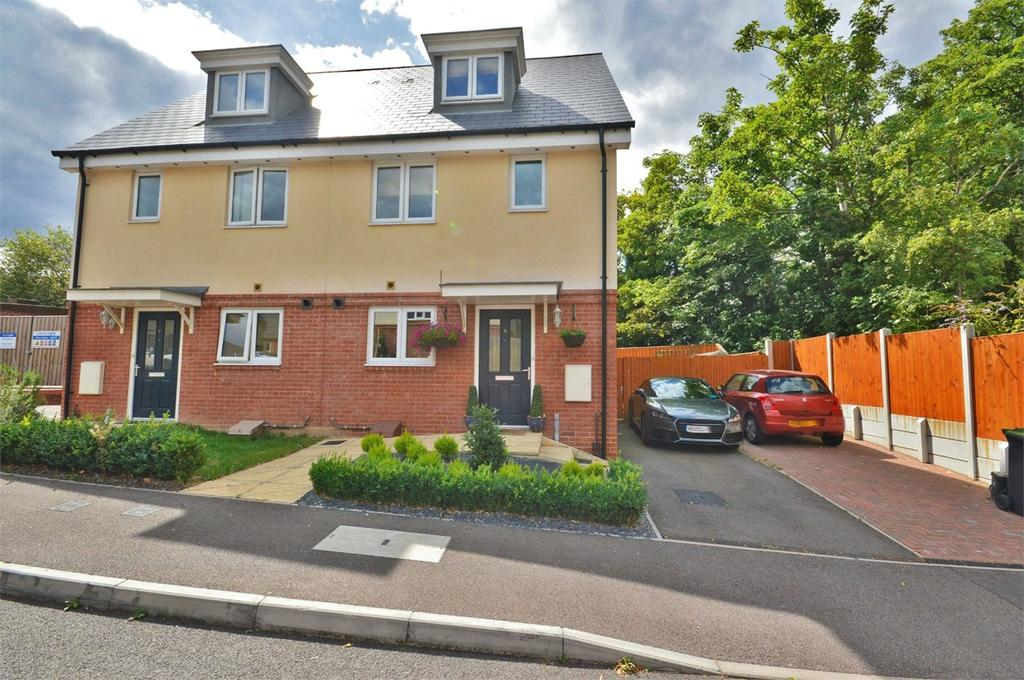 3 Bedrooms Semi Detached House for sale in Vanoli Close, Saffron Walden, CB11