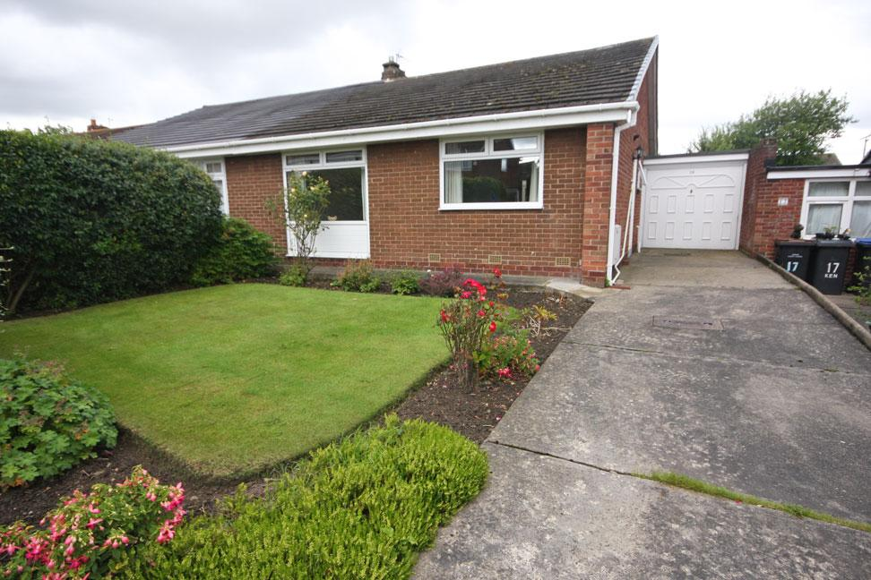 2 Bedrooms Semi Detached Bungalow for sale in Kenilworth, Great Lumley, Chester-le-Street DH3 4LZ
