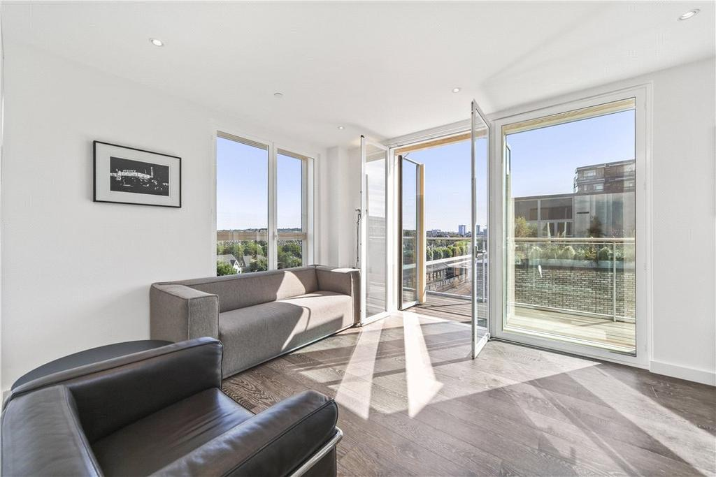 1 Bedroom Penthouse Flat for sale in Birchside Apartments, Queen's Park Place, 1 Albert Road, Queen's Park, NW6