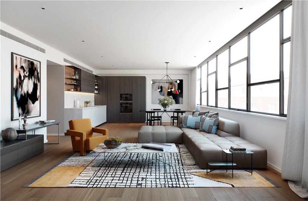 2 Bedrooms Flat for sale in Long Street, London, E2