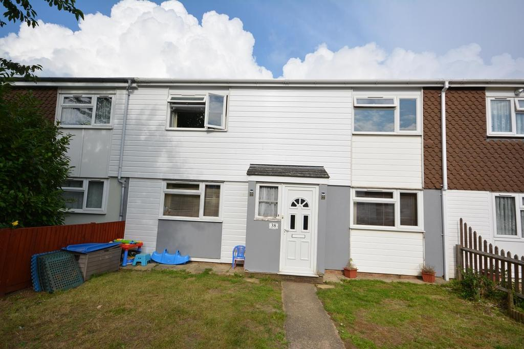 3 Bedrooms Terraced House for sale in Thackeray Close, Braintree, Essex, CM7