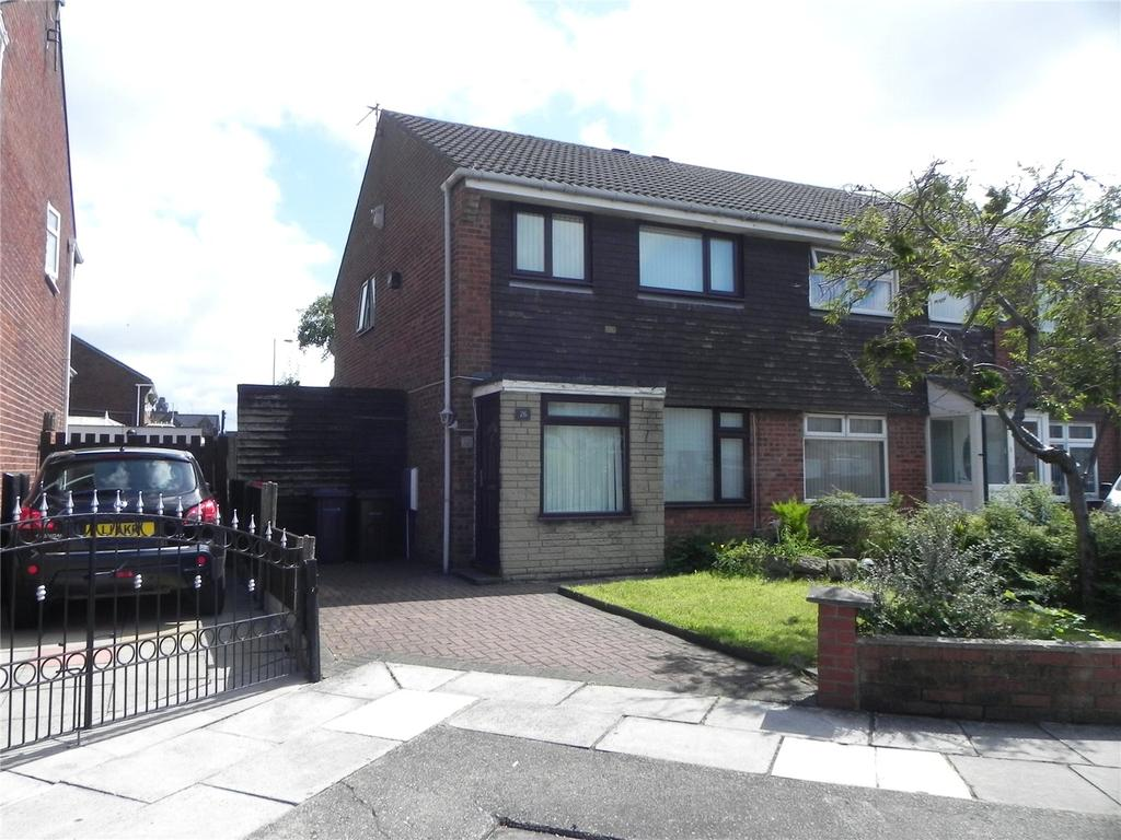 3 Bedrooms Semi Detached House for sale in Deepdale Avenue, Bootle, Liverpool, L20