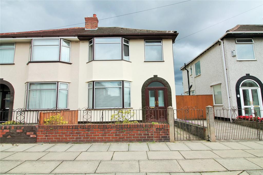 3 Bedrooms Semi Detached House for sale in Montgomery Road, Orrell Park, Liverpool, L9