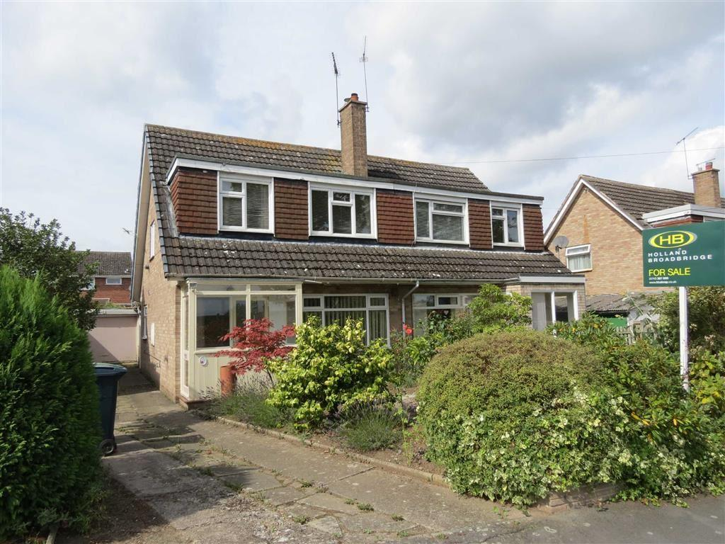 3 Bedrooms Semi Detached House for sale in Overdale Road, Bayston Hill, Shrewsbury, Shropshire